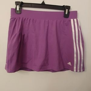 Adidas Running Tennis Skort Purple Medium